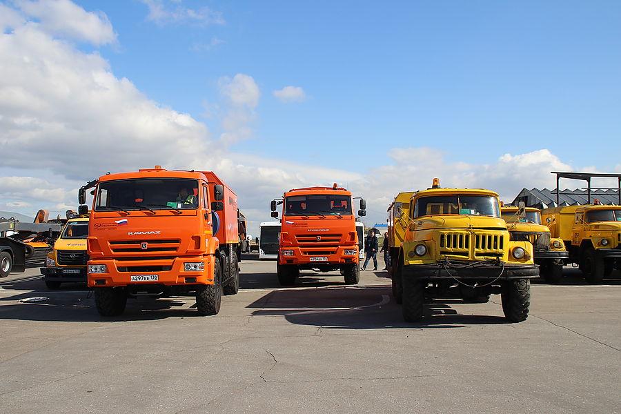 Спецтехника иркутского аэропорта готова к зиме - AEX.RU