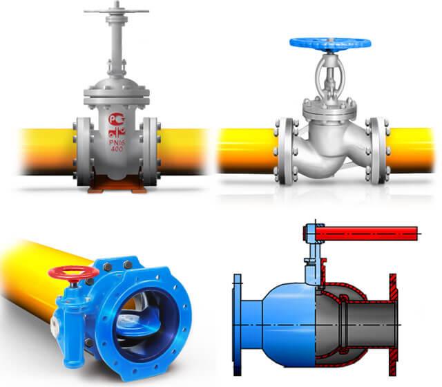 Какие виды трубопроводной арматуры лучше использовать – характеристики,  преимущества, сфера применения